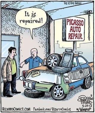 Illustration for article titled Art Car