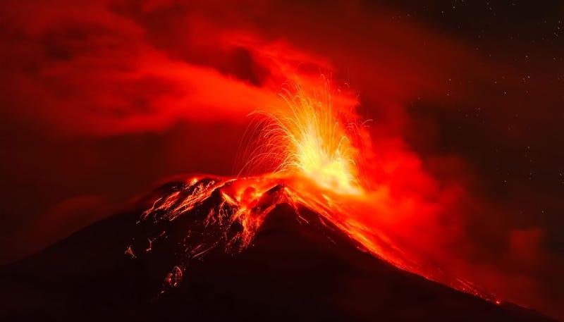 Illustration for article titled Un meteorito, y no las erupciones volcánicas, provocó la extinción masiva de los dinosaurios