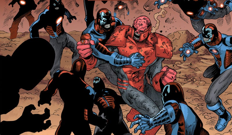 """Illustration for article titled When Atrocitus says """"Can't we all get along?"""" you know things have gotten bad"""