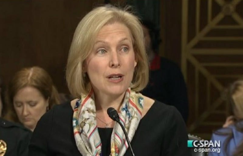 Illustration for article titled Gillibrand: UVA Story Shouldn't Stop Campus Sexual Assault Bill