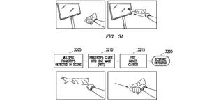 Illustration for article titled Samsung Smartwatch Patent Predicts Gesture Control on Your Wrist