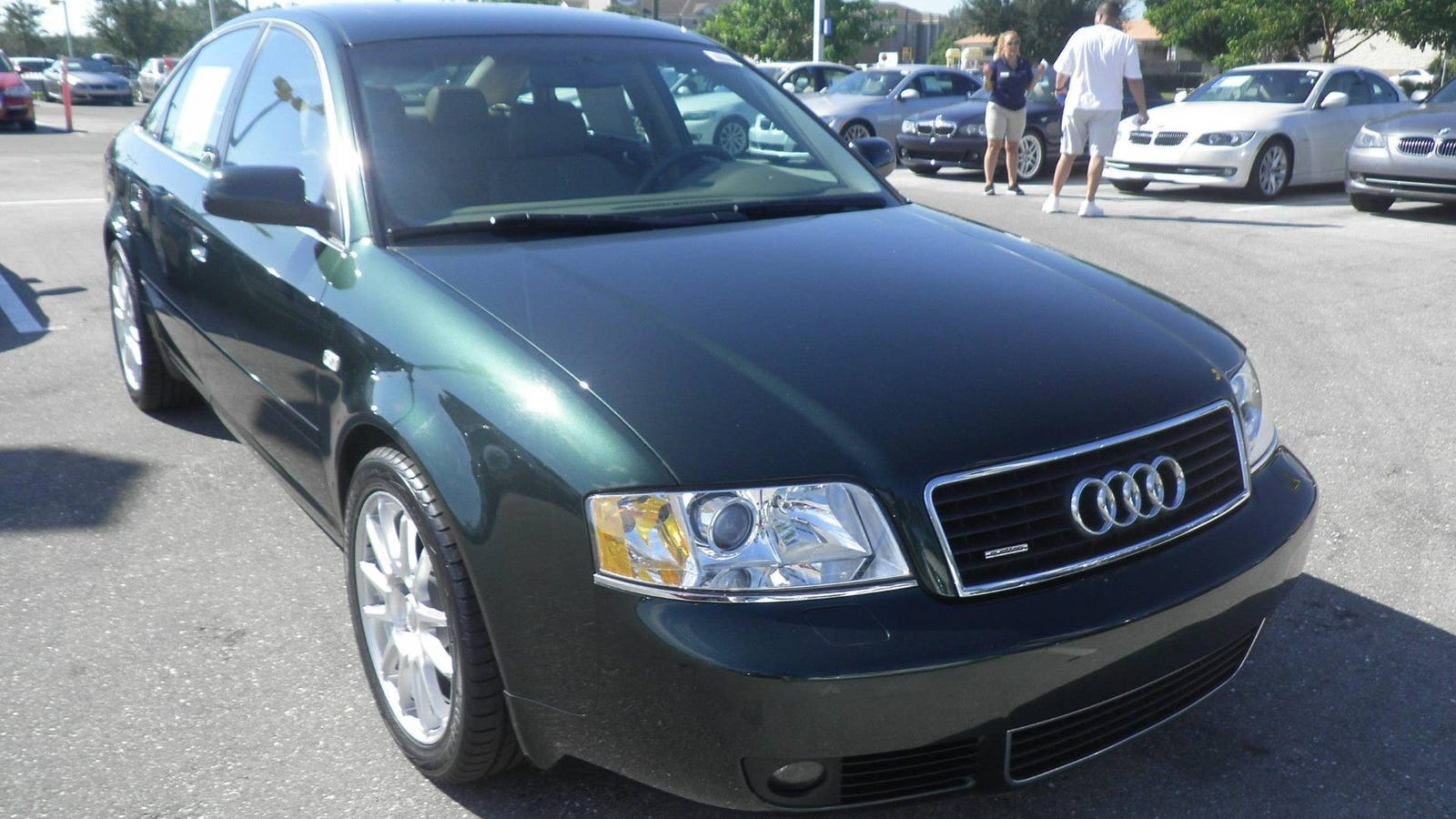 2004 audi a6 2 7t from carmax np or cp. Black Bedroom Furniture Sets. Home Design Ideas