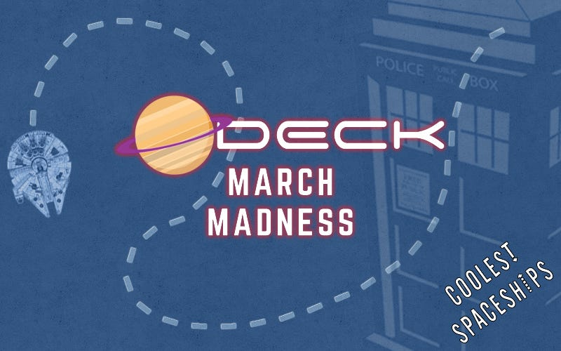 Illustration for article titled O-Deck March MadnessChampionship Round:Coolest Spaceships
