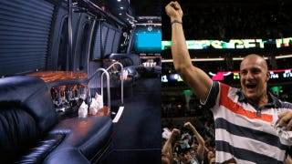 Illustration for article titled Rob Gronkowski Dreams To One Day Own His Own Party Bus, And More