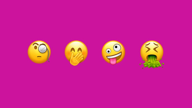 Go Download Your New IPhone Emoji Right Now - Emojis created real life still dont make sense