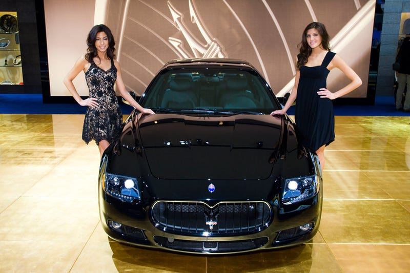 Illustration for article titled Maserati Quattroporte Sport GT S: We Get Weak In The Knees For 433 HP