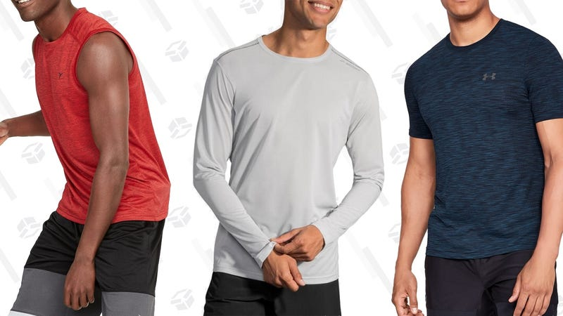 Illustration for article titled Eight Great Options For Upgrading Your Workout Shirts