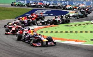 Illustration for article titled F1 Broadcast