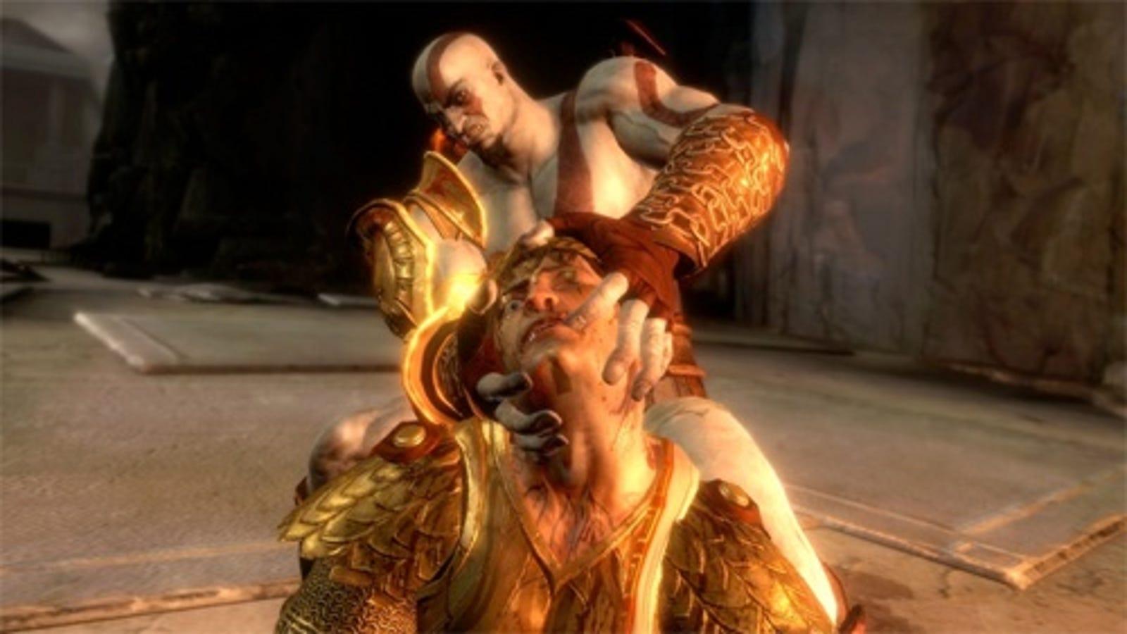 God of war game sex