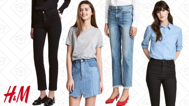 Take 30% Off H&M Tops When You Purchase Denim
