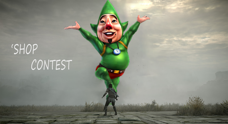 Illustration for article titled Kotaku'Shop Contest: Shadow Of The Tingle