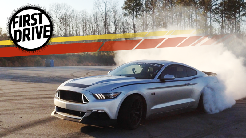 Illustration for article titled The 460 HP 2017 Ford Mustang RTR Is The Most Rational Way To Own A Complete Lunatic Car