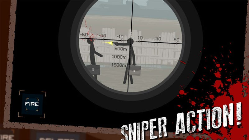 Illustration for article titled This Week's iPhone Charts: Sniper, No Sniping!