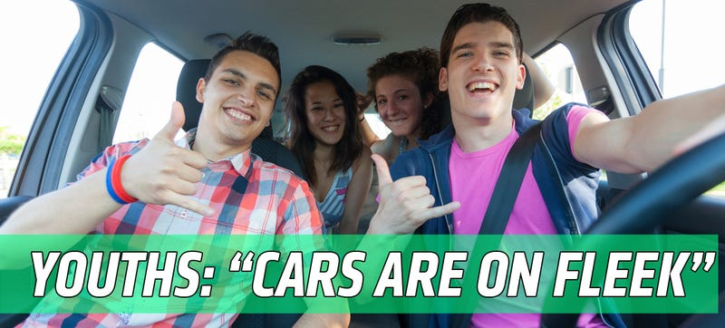 Illustration for article titled Hip MTV Study: The Youths Don't Hate Cars After All