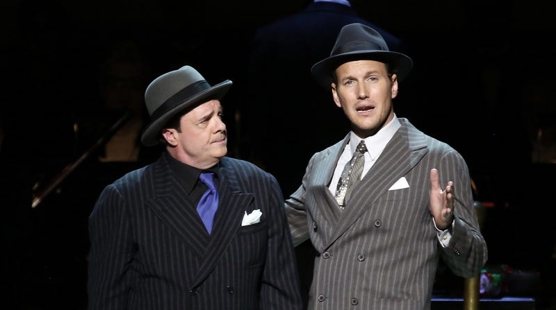 Nathan Lane and Patrick Wilson in Guys And Dolls