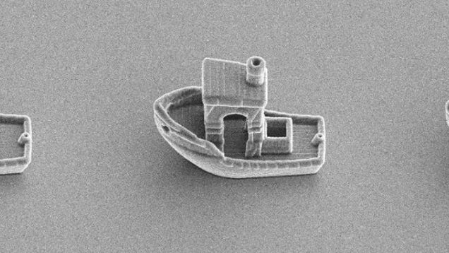 Physicists 3D Print a Boat That Could Sail Down a Human Hair