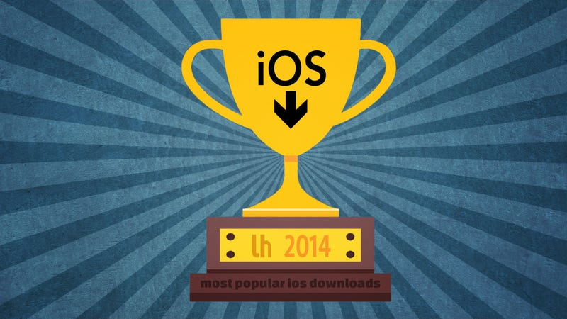 Illustration for article titled Most Popular iPhone Downloads and Posts of 2014
