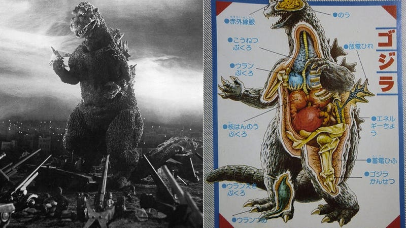 Illustration for article titled Godzilla, Dissected for Your Viewing Pleasure