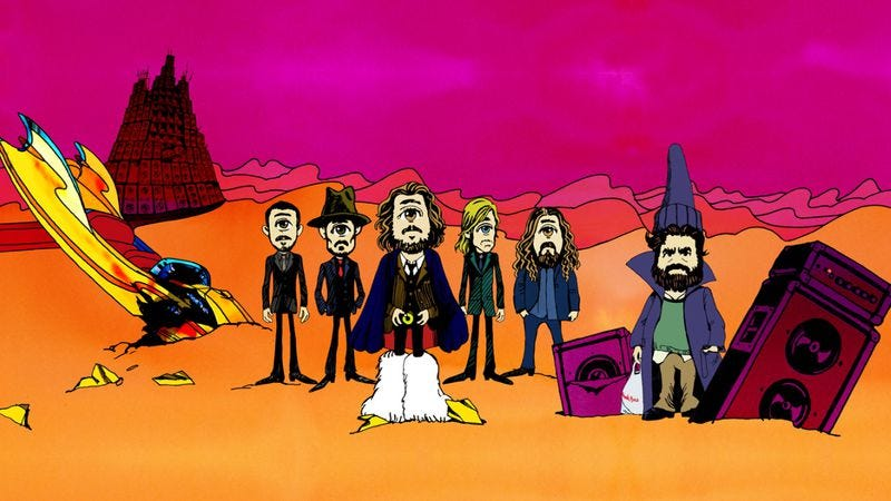 Illustration for article titled Watch Zach Galifianakis—sort of—in the new My Morning Jacket video