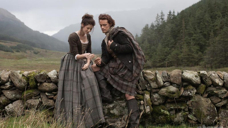 Illustration for article titled Terrible News: Outlander Will Be On Hiatus Until April. APRIL.