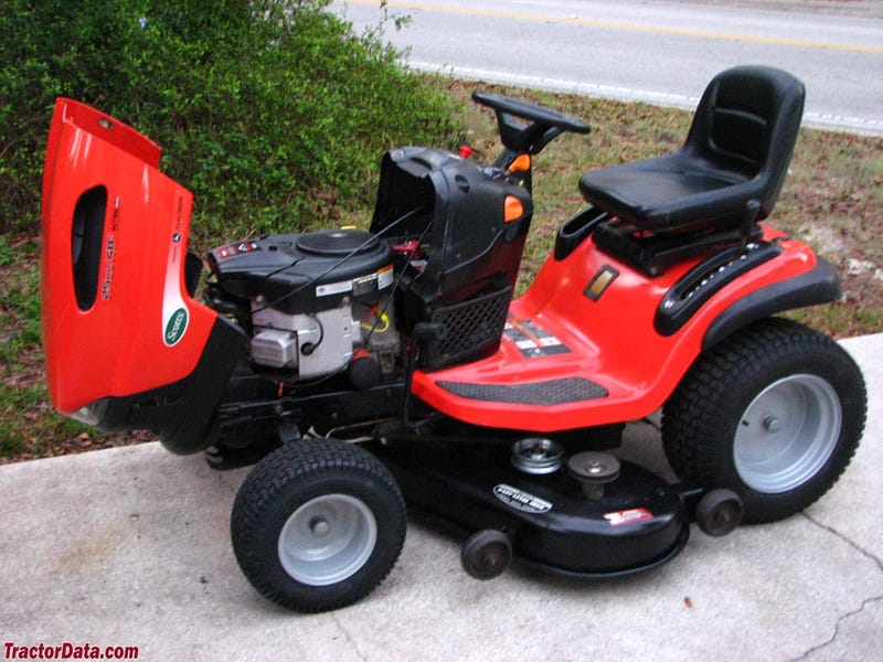 Illustration for article titled Sports mower