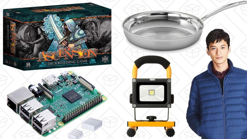 Illustration for article titled Today's Best Deals: Board Game Blowout, Tri-Ply Cookware, Fandango BOGO, and More