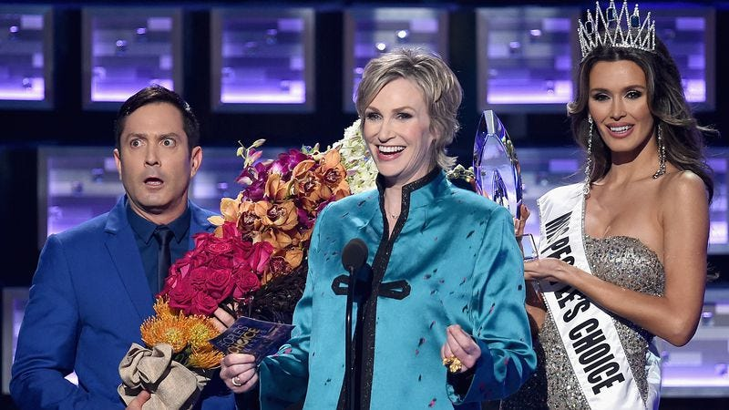 Thomas Lennon, Jane Lynch, and the embodiment of a timely bit