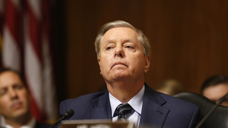 Illustration for article titled Fuck the Fuck Off Lindsey Graham, You Fucking Misogynist