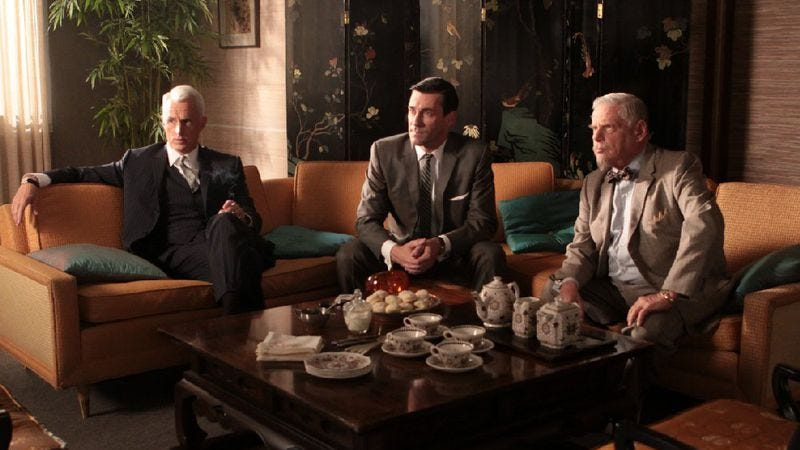"""Illustration for article titled Mad Men: """"Shut The Door. Have A Seat"""""""