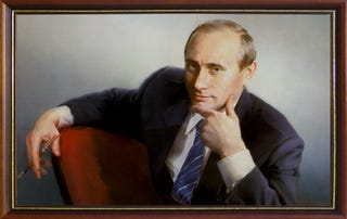 Illustration for article titled Putin Triumphant