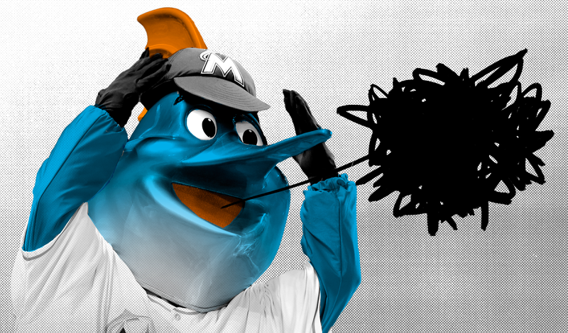 Illustration for article titled Someone Appears To Be Trying To Hoax The Marlins President Out Of His Job