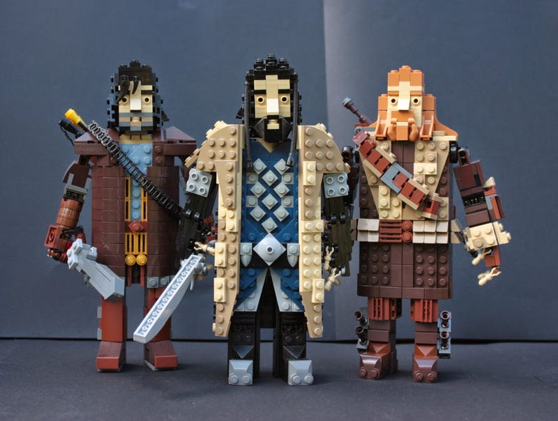 Illustration for article titled Thorin's Company looks marvellous as Lego figures