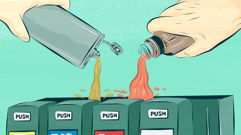 Illustration for article titled 13 Alcoholic Soda Pops, Ranked