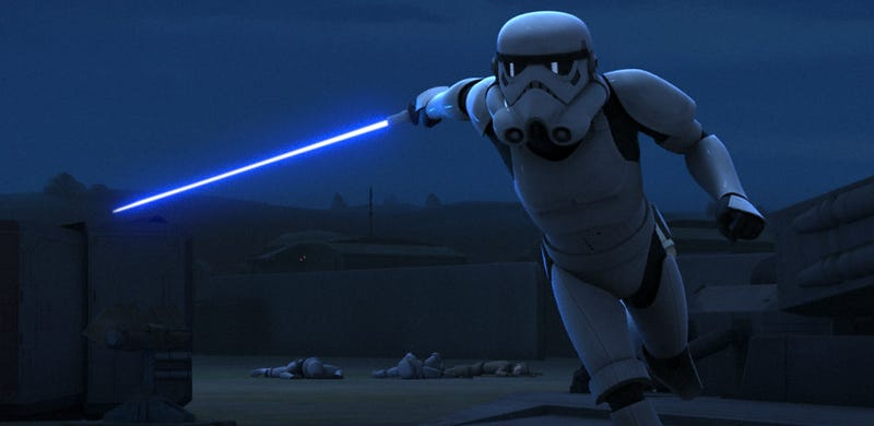 Illustration for article titled Watch Star Wars Rebels Go Into Jedi Hyperspace With This Astonishing New Trailer