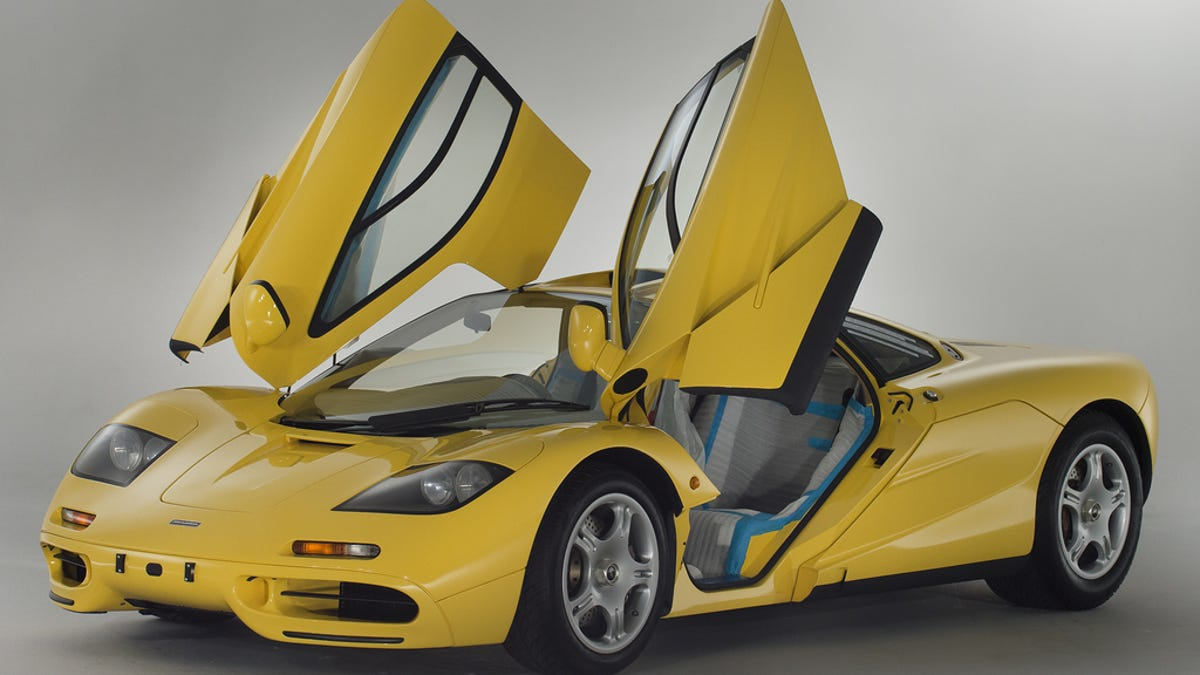 Brand New 1997 McLaren F1 With 148 Miles For Sale This Is Not A Drill