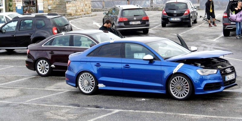 Illustration for article titled This is most likely the new Audi RS3 sedan.