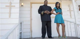 Preachers' Daughters cast member Taylor Coleman and her father, Ken (Lifetime)