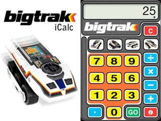 Illustration for article titled If You Couldn't Afford the '80s Bigtrak, Download the Free iPhone App Instead