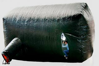 Illustration for article titled This Inflatable Photo Studio Could Also Make For a Cheap Mobile Home For Hungry Photogs