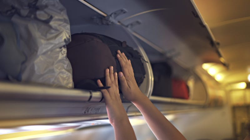 Can You Call Dibs on Overhead Space on a Flight?