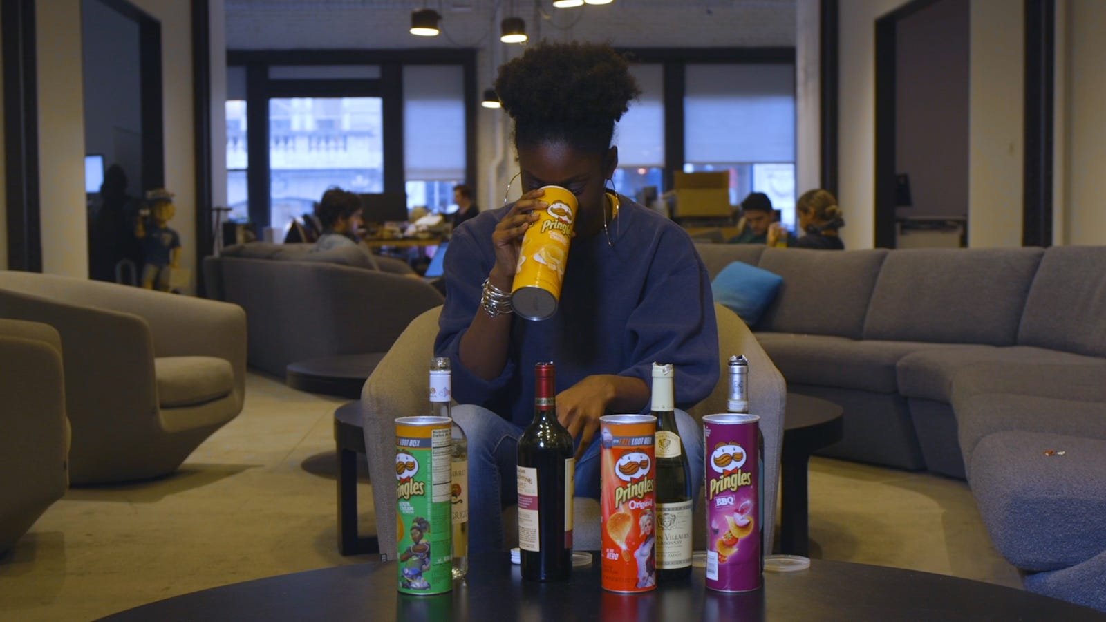 We Drank Wine From Pringles Cans In Solidarity With The Woman Banned From Walmart