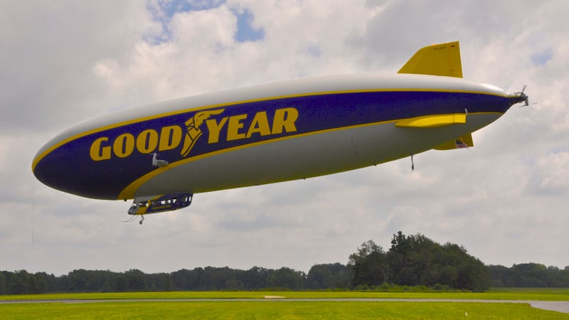 Illustration for article titled Goodyear Christens New 'Wingfoot One' Zeppelin, Says Bye To Blimps
