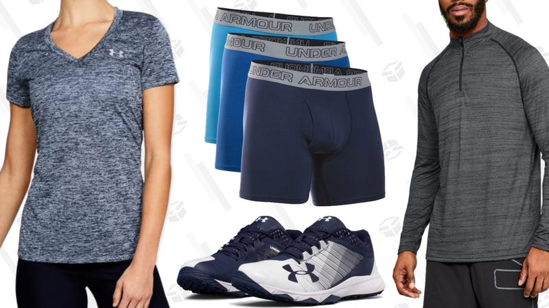 Extra 20% Off Clearance | Under Armour | Promo code  HUSTLE20
