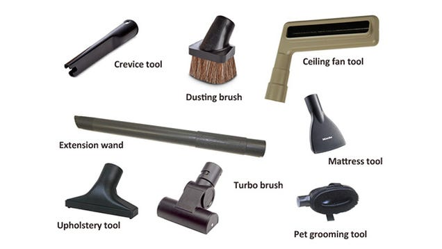 What Each Of Those Vacuum Attachments Are Actually For