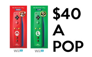 Illustration for article titled Special Edition Mario and Luigi Wiimotes Available for Preorder