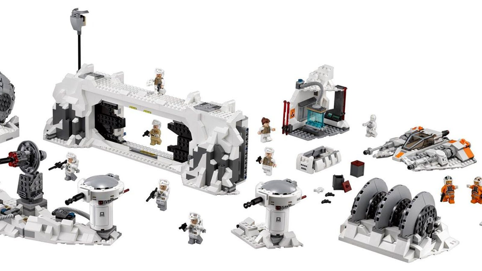 lego star wars returns to hoth with this amazing playset. Black Bedroom Furniture Sets. Home Design Ideas