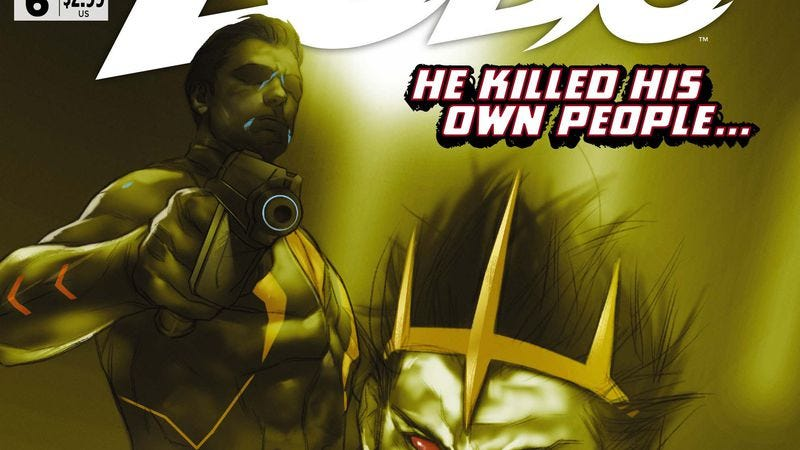 Illustration for article titled Exclusive DC preview: Lobo #6 reveals the heartthrob assassin's new origin