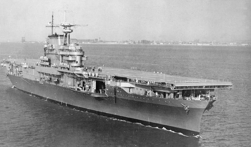 Han encontrado el USS Hornet en el fondo del Pacífico y las imágenes son increíbles