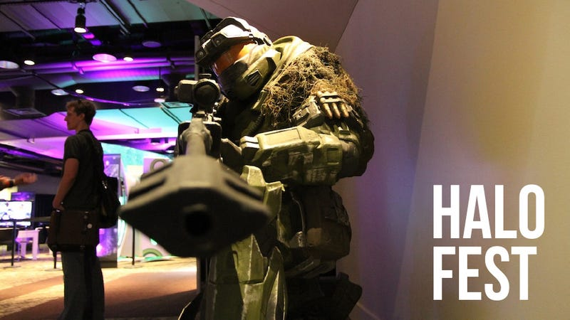 Illustration for article titled The Sights and Highlights of Halo Fest: Halo 4, Halo: Anniversary, The Duke, and More