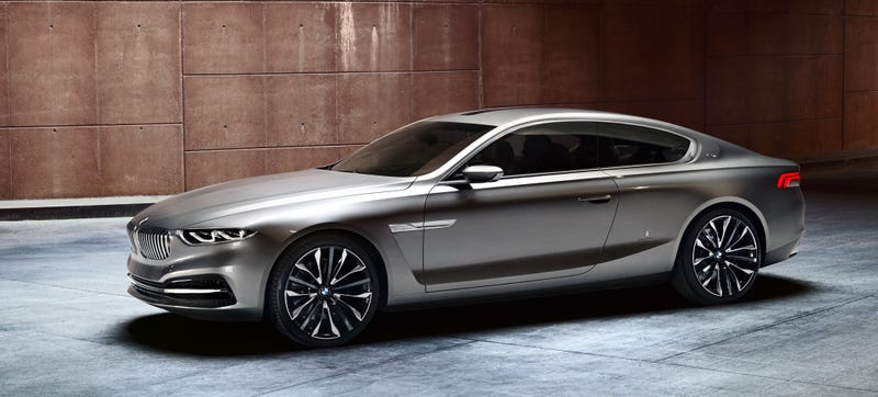 2013 BMW Gran Lusso Coupe pictured, via FavCars.com